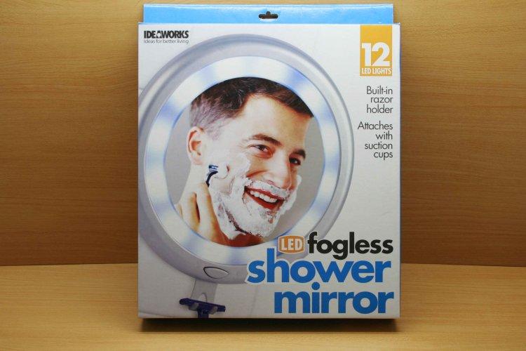 12 LED FOGLESS SHOWER MIRROR (PRICE $68) Larger Image