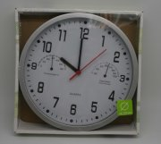 3合1WALL CLOCK WITH THERMOMETER & HYGROMETER(白) (原價$45 特價$32.6)