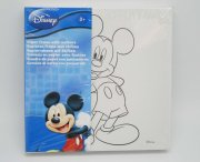 DISNEY 系列 PAPER FRAME WITH MARKERS (米奇)(原價$20 特價:$7.9)